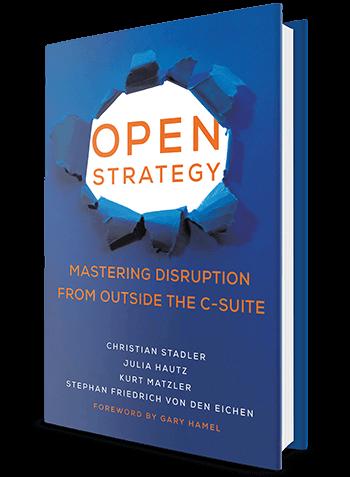 Open Strategy by Christian Stadler